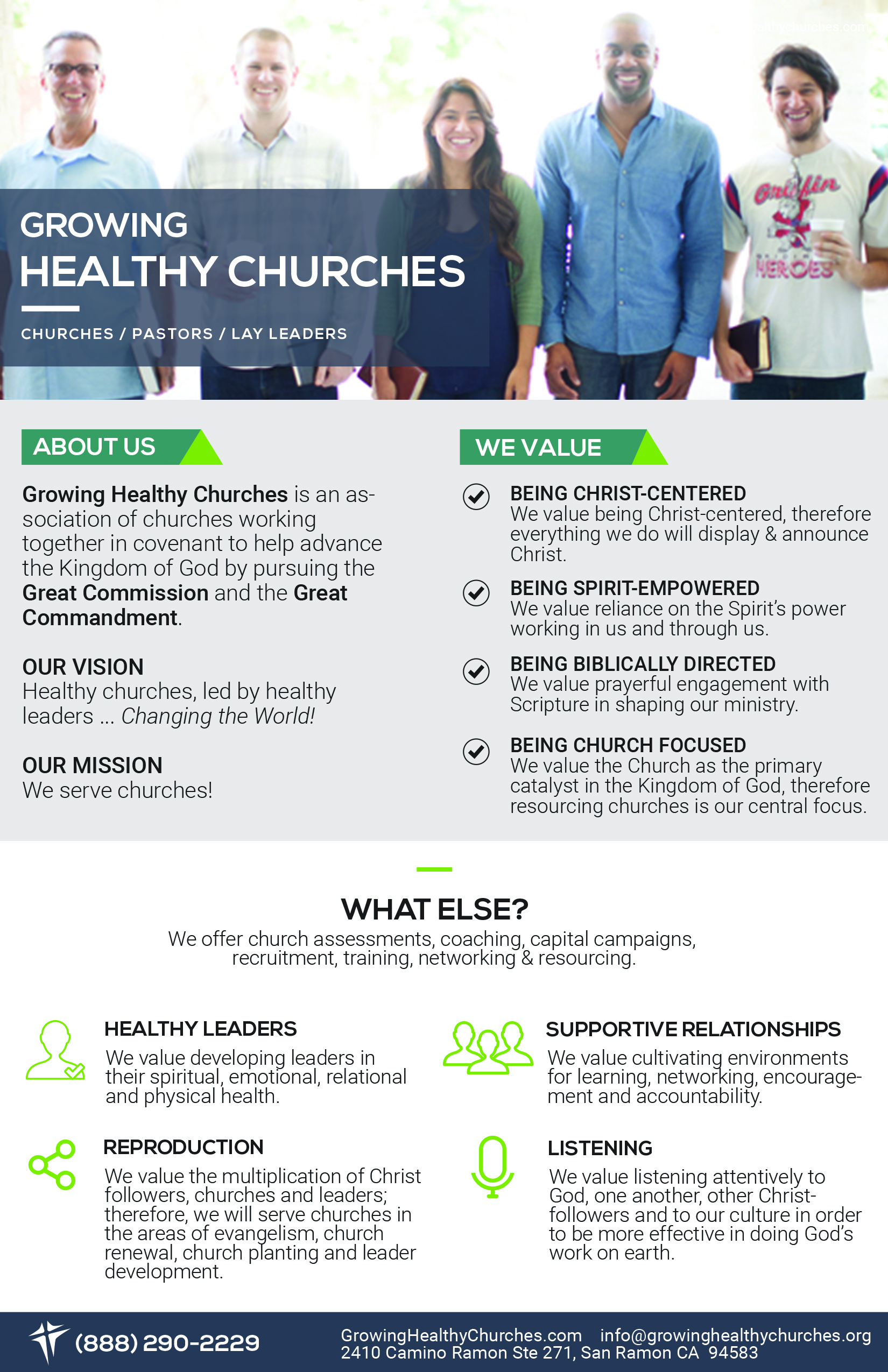 Growing Healthy Churches Speaker Request: Dr  Tim Brown