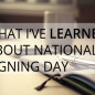 What I've Learned From National Signing Day